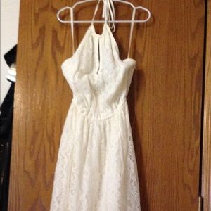 NWT Abercrombie & Fitch maxi dress white XS